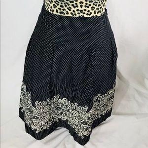 Adorable polka dot Ann Taylor Loft skirt